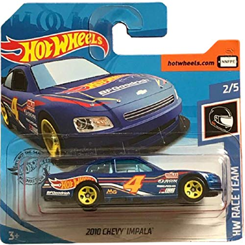Hot Wheels 2010 Chevy Impala HW Race Team 2/5 2020 (209/250) Short Card