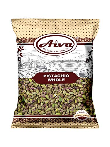 Aiva Raw Pistachios, No Shells, Unsalted 1 LB