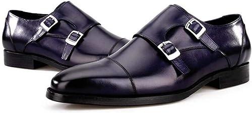 GAOPF Hommes Designer Italien De Luxe Parfait Vrai Cuir De Veau Chaussures Hommes Chaussures De Mariage Hommes Bureau Chaussures