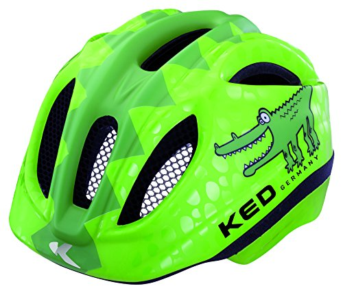KED Meggy Reptile Kopfumfang S/M 49-53 cm Green Croco