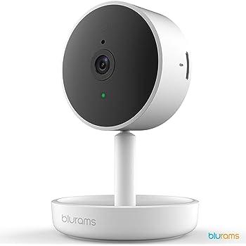 Google Assistant y IFTTT Detecci/ón de movimiento de c/ámara de seguridad WiFi Hombli C/ámara inteligente para interiores 1080p Full HD audio de 2 v/ías visi/ón nocturna compatible con Alexa