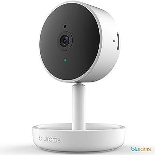 Blurams Home Pro 1080p FHD Cámara de Vigilancia en Domo para el Hogar-WiFi Micrófono-Altavoz Detección Inteligente Personas/Animales/Sonidos Alertas Móvil Tiempo Real Espacio Privado(iOS Android)