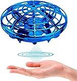 Drone platillo Volador Mini Drone Juguete para niños Sensor de Mano Quadcopter Sensor de Infrarrojos Bola voladora Radio Control Remoto Drone