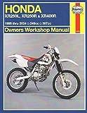 Honda XR250L, XR250R & XR400R (86 - 04): 249cc, 397xx (Haynes Owners Workshop Manual)