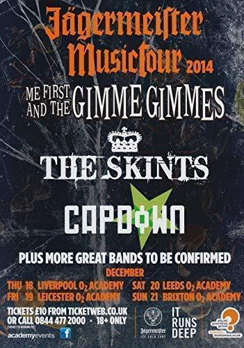 Me First & The Gimme Gimmes Jägermeister Musictour Foto Poster NOFX 001 (A5-A4-A3) - A5