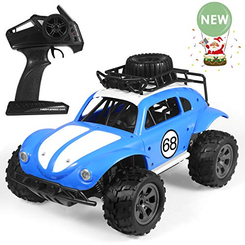 RC Car,4WD 1:16 Scale High Speed Off Road Vehicle Toy Cars,2.4Ghz Radio Controlled Electric Vehicle Rock Crawler Remote Control Car Toys for Kids and AdultsRed (Style-2)