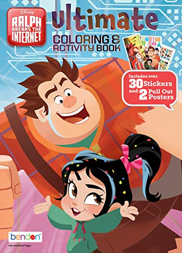 Wreck-It Ralph Bendon 43796 Ultimate Coloring & Activity Book, 2