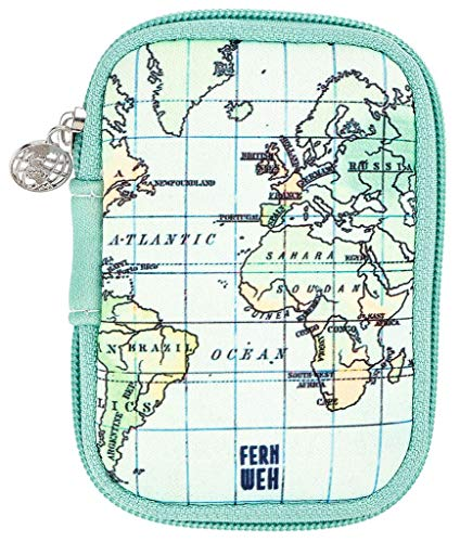 moses. Fernweh - Bolsa para guardar cables, auriculares y adaptador de carga,...