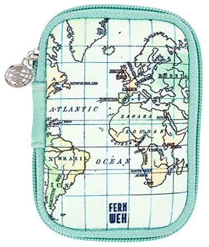 moses. Fernweh - Bolsa para guardar cables, auriculares y adaptador de carga, pequeño estuche de...