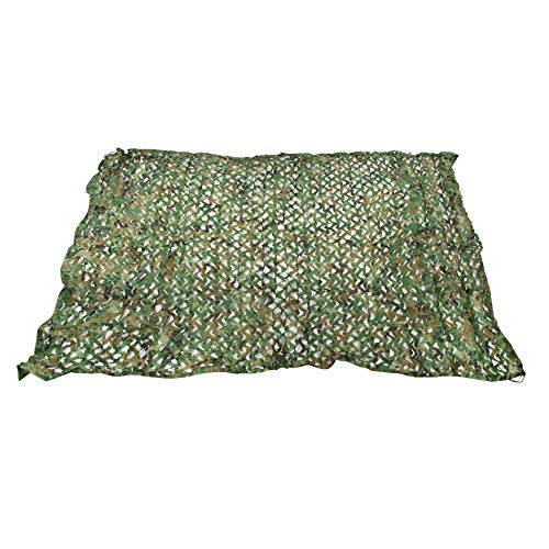 Moolo Camouflage Net Outdoor Camping Shooting Camouflage Net Jungle Jagd Wandern Sonnencreme Sonnenschutz Netto 3 X 4m