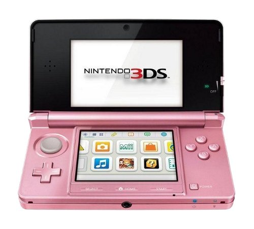 Free Shipping and Cheap !!! Nintendo 3ds Pearl Pink Handheld System (Ntsc)