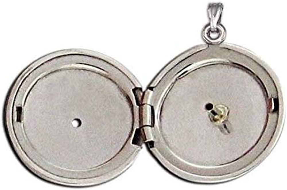 PicturesOnGold.com 14K Yellow Max 2021 model 40% OFF Cremation and Hair Diamon Locket W