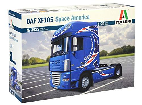 Italeri DAF XF-105 Space America, I3933, Modellbau, Bausatz, Standmodellbau, Basteln, Hobby, Kleben, Plastikbausatz, detailgetreu, Unlackiert