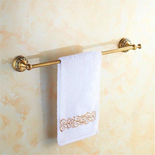 Redhj hangtoren van koper, antiek design, voor enkele handdoeken, douchehanddoek met weegschaal, hotel, 60 cm