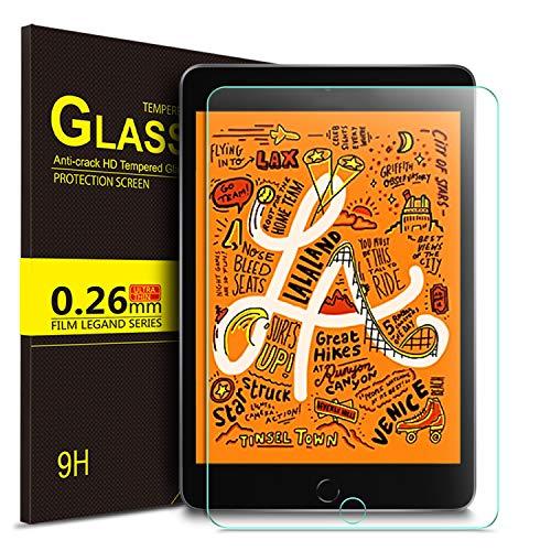 IVSO-schermbeschermer voor iPad Mini 5/iPad Mini 201, helder gehard glas Flim-schermbeschermer voor Apple iPad Mini 5 2019, 1 verpakking
