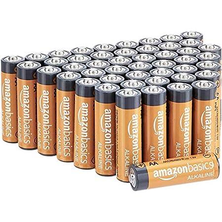 【復活!百均より安い】Amazonベーシック 乾電池 単3形 アルカリ 48個セット 597円送料無料(12.4円/本)!