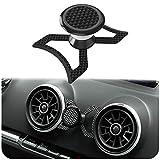 innoGadgets Support magnétique pour téléphone Portable Audi A3/S3/RS3 Support Universel pour Smartphone, GPS et Tablette   Montage Facile   Réglable à 360° pour Une visibilité optimale   Carbone
