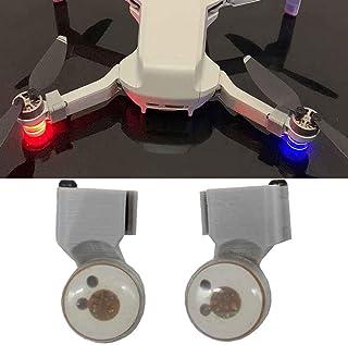 Drone Night Flying Lamp, Strobe LED Light, Flashing Searchlight Light, Signal Warning Light, Anti Lost Warning Light Parts...