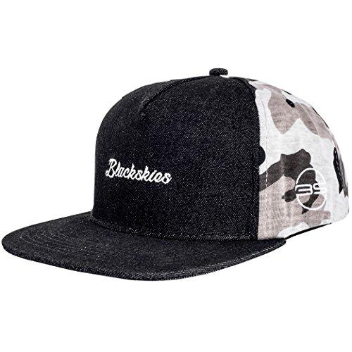Blackskies Charlie Snapback Cap   Hombres Mujeres Gorra de Camuflaje de Bosque Gorra de Béisbol Premium Unisex