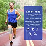 Zoom IMG-1 anoopsyche tutore ginocchio con stabilizzatori