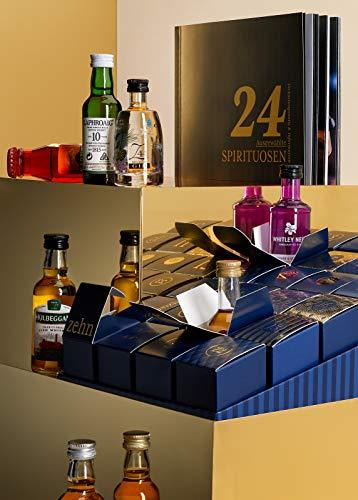 Amazon Premium Spirituosen Adventskalender 2020 - 24 Miniaturflaschen inkl. Booklet mit Verkostungsnotizen und Cocktailrezepten - 5
