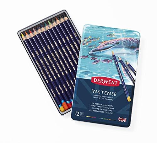 Derwent Inktense matita impostare 12/Tin-