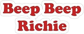 Hope Hit Beep Beep Richie Stickers (3 Pcs/Pack)