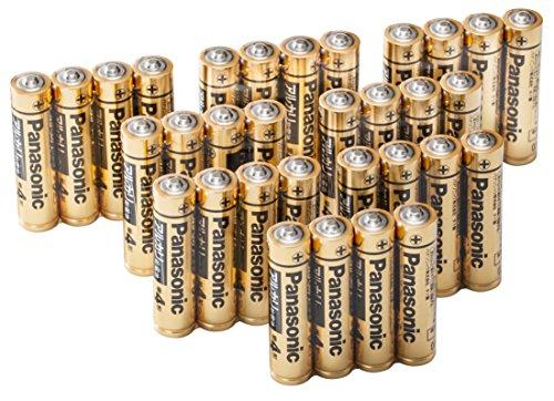 パナソニック 単4形アルカリ乾電池 32本パック LR03RJA/32S【フラストレーションフリーパッケージ(FFP)】