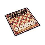 Natural Logistics Ajedrez Magnético-Madera-Tablero De Ajedrez Plegable-Juego de ajedrez-Juegos De Mesa clásicos-Ajedrez Profesional-niños-pequeño. Kottao.