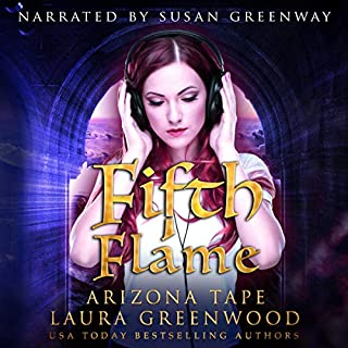Fifth Flame audiobook cover art