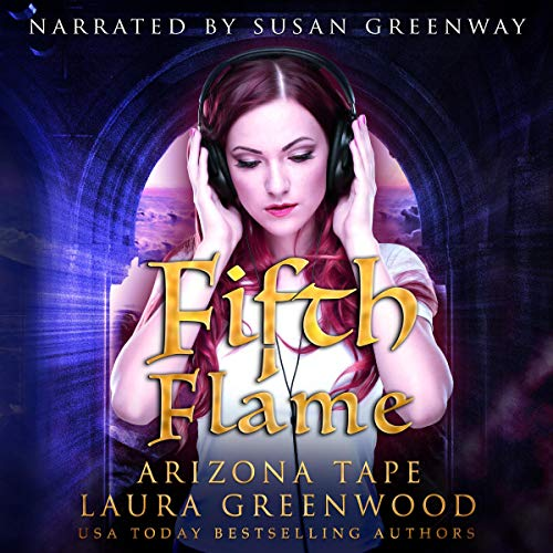 Fifth Flame Arizona Tape Laura Greenwood Susan Greenway Renegade Dragons Paranormal Romance Audiobook Audio