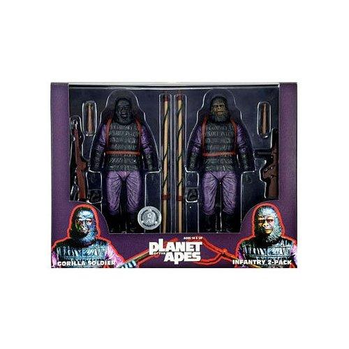 Unbekannt Planet der Affen Classic Gorilla Soldier Doppelpack