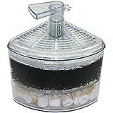 Aquapapa Corner Filter Bio Sponge Ceramic Air Pump Driven for Fry Shrimp Nano Fish Tank Aquarium XY-2008 (Ship from CA USA)