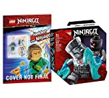 Collectix Lego Set Ninjago Legacy Battle - Juego de batalla (Zane vs. Nindroid 71731 + Lego héroes de Ninjago (cubierta blanda)