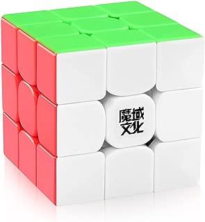 D-FantiX Moyu Weilong GTS V2 Speed Cube 3x3 Stickerless Moyu Weilong GTS2 3x3x3 Magic Cube Puzzle Toy