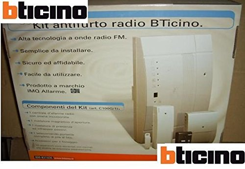 KIT ANTIFURTO RADIO BTICINO C100G/1
