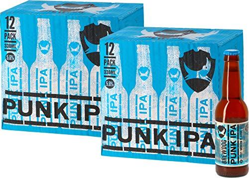 24-er Paket | Bierpaket | Internationales Bier | Craft Beer | Großpaket zum Sparpreis (Brewdog Punk IPA)