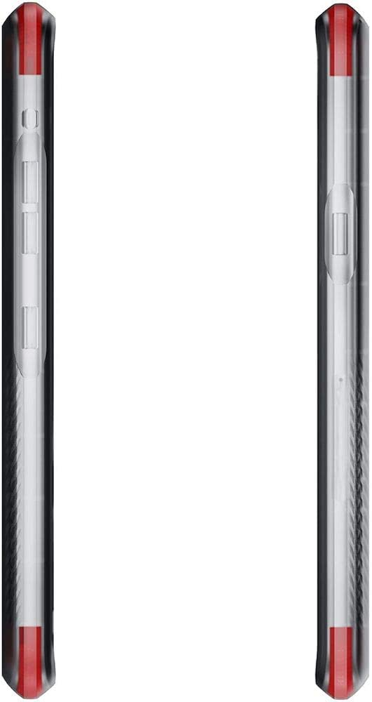 Ghostek Covert Designed for LG G8 ThinQ Case Clear Bumper Phone Cover Slim Fit Skin Ultra Thin Silicone Wireless Charging Compatible Tough Shockproof Heavy Duty Protection & Anti-Slip Grip - (Clear)