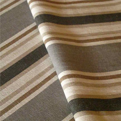 LOOME Harbour 'Cove' : Grey Linen Upholstery Fabric from Fabrics, Sample 10 x 14 cm