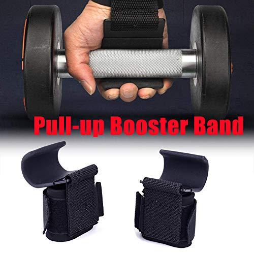 Alomejor Zughilfen Bodybuilding Gewicht Hebeband Handgelenk St/ützhaken Kraft Gewichtheben Kraftheben Bodybuilding