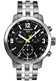 Gifts and Jewels Co. Tissot Tissot PRC 200 Cronografo Nero Quadrante Acciaio inox Acciaio Mens Orologio T0554171105700