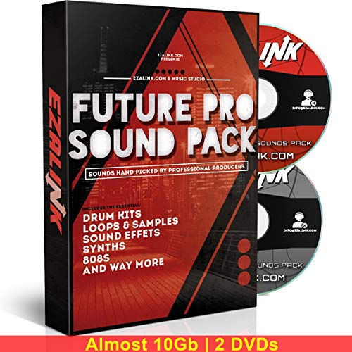 Musik-Sound-Pack: Samples, 808s, Drum Kit, Loops – Zaytoven Hip Hop EDM für Beat Maker MPC FL Studio Logic 10 GB mit kostenloser Software 2019