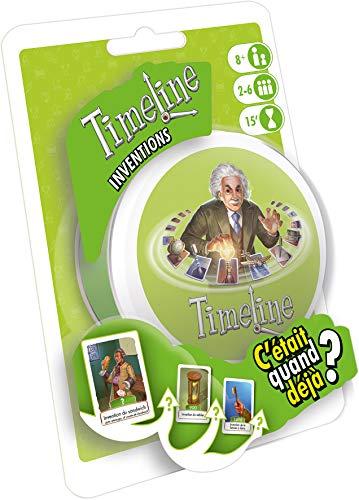 Timeline Inventions - Asmodee - Jeu de société - Jeu de cartes