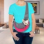 VaygWay dog Sling Carrier- Mesh Traveling Cat Carrier Pouch - Pet Sling Dog Carrier - Puppy Sling 11