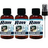 RAW Frozen Scents Calming Scent Ever Deer Calm Attractant Buck Lure Whitetail Hunting Cover Urine 2 oz (3 Bottles)