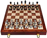 FANPING Juego de ajedrez chino, es muy bien hecha portátil, pero con la alegría y el interés, Wont se caen durante el juego, for los principiantes y los que se entregaban en el ajedrez electrónico Int