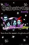 (22 x 35) Die Osbourne Family (Faces) TV-Poster-Print