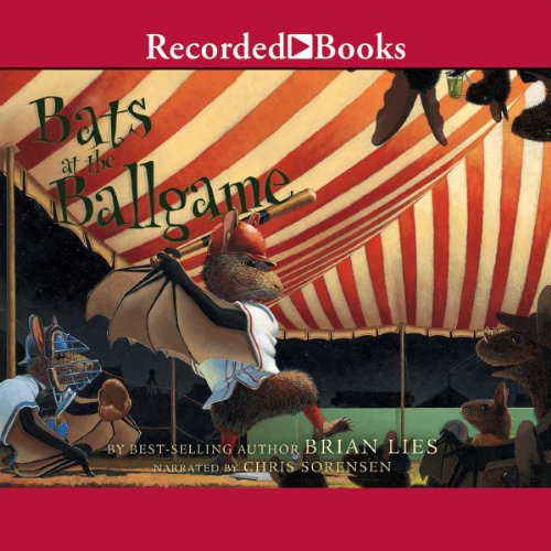 Bats at the Ballgame audiobook cover art