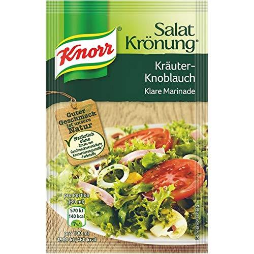Knorr Salatkrönung Kräuter-Knoblauch, Klare Marinade - 3St.