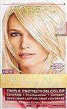 L'Oreal Paris Excellence Creme Pro - Keratine Hair Color - 1 Application - 10 - Light Ultimate Blonde - Natural